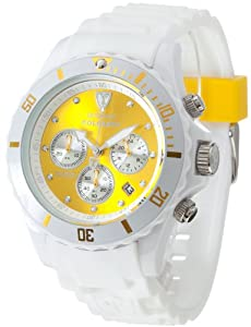 Detomaso Herren-Armbanduhr XL  COLORATO DT2019-I Trend Chronograph Quarz Silikon DT2019-I