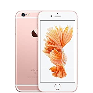 Apple iPhone 6s 128 GB US Warranty Unlocked Cellphone - Retail Packaging (Rose Gold)