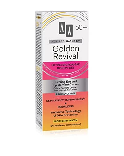 AA Cosmetics Eye en Lip Care Age Technology Golden Revival 60+ 15ml , prijs / 100 ml : 86,33 euro