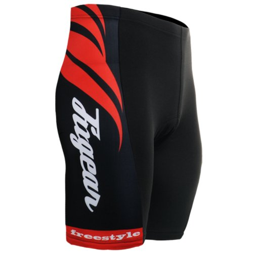 Buy Low Price Fixgear Cycling Bicycle Biking Cycle Wear Gel Padded Tight Shorts Men S~3XL (B0091P217K)