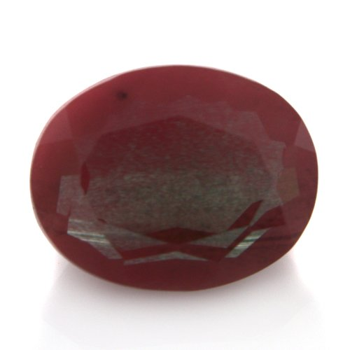 Natural Africa Red Andesine Loose Gemstone Oval Cut 10*8mm 2.75cts VS Grade