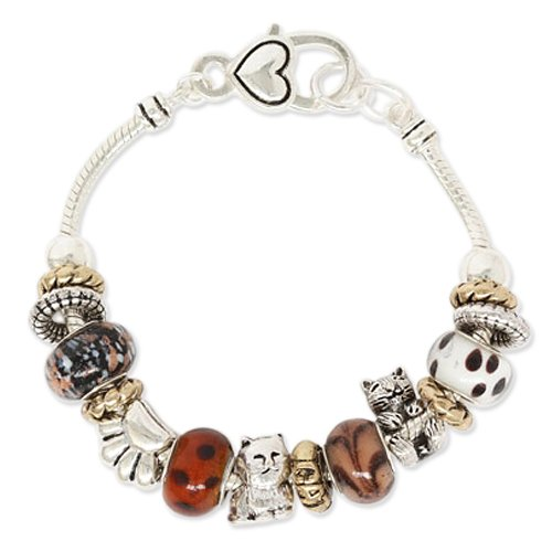 Cat Theme Designer Style Charm Bracelet Fashion Jewelry