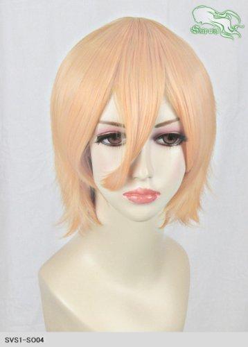 スキップウィッグ 魅せる シャープ 小顔に特化したコスプレアレンジウィッグ マニッシュショート オレンジキャンディ
