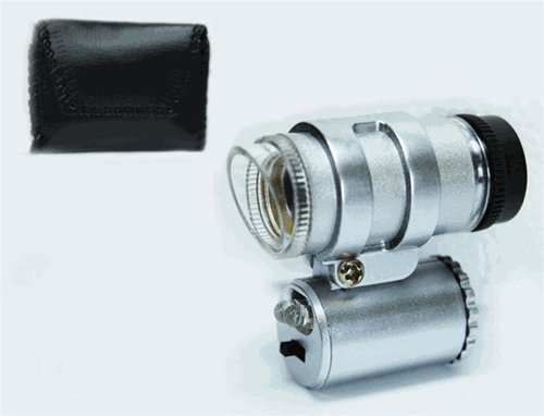 Se - Microscope - Led Illuminated, Mini, 45X, 2/5In.
