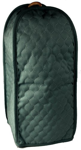 Quilted Hunter Green Blender Appliance Cover