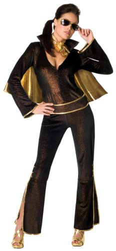Secret Wishes Women's Elvis Sexy Costume Jumpsuit