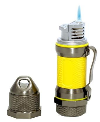 Buy Discount Visol Storm Gunmetal / Yellow High Altitude Windproof Lighter