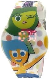 Disney Kids\' INS3001 Digital Display Quartz Multi-Color Watch