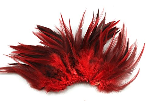 generic-100pcs-saddle-hackle-rooster-feathers-colorful-pheasant-neck-feathers-6-8inchred