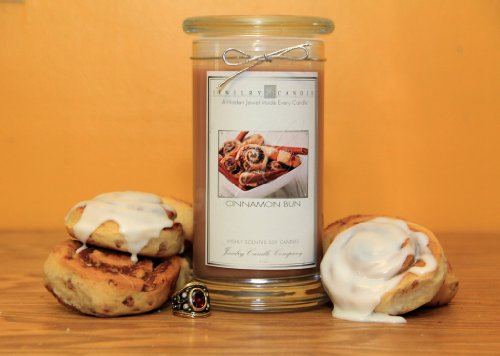 Cinnamon Bun Jewelry Candles By Jewelry Candle Company