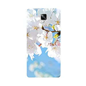Skintice Designer Back Cover with direct 3D sublimation printing for One Plus 3