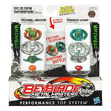 Beyblade Metal Fusion Solid Iron Showdown