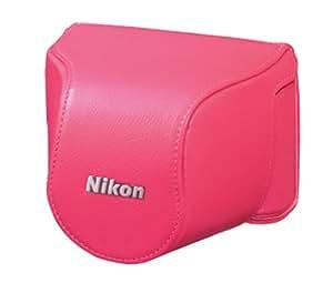 Nikon CB-N2000SD Pink Leather Body Case Set