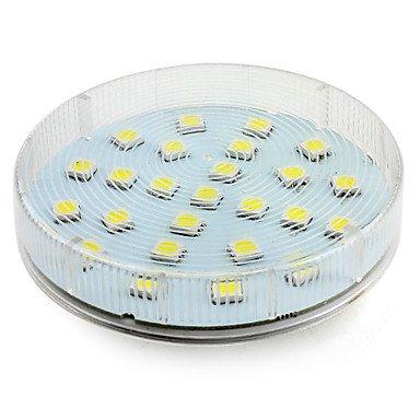 Gx5.3 3.5W 25X5050 Smd 300Lm 6000-6500K Natural White Light Led Spot Bulb (220-240V)