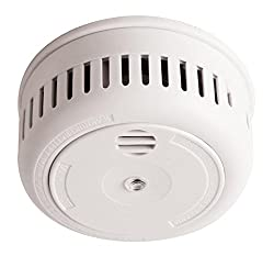 Long Life Miniature Optical Interconnect Smoke Alarm with 10 Year Sealed Lithium Battery from Firehawk