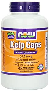 Kelp - 325 mcg of natural iodine (250 caps)