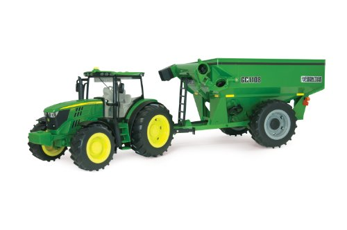 Ertl Big Farm 6210R Tractor With Grain Cart front-846322