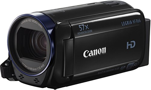 Canon LEGRIA HF R66 Videocamera Digitale Full HD, Nero