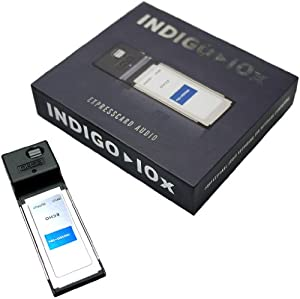 Echo Indigo IOx Digital ExpressCard Laptop Audio Interface