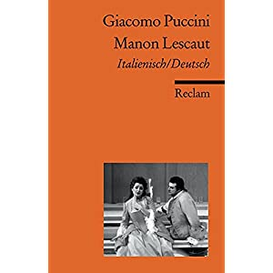 Manon Lescaut (Reclams Universal-Bibliothek)