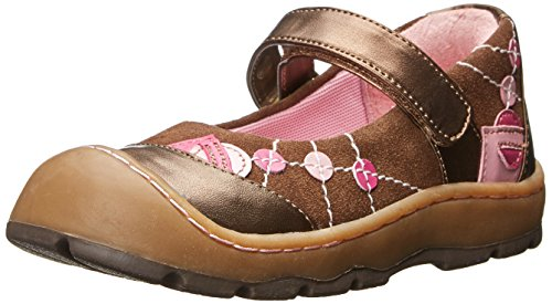 Jumping Jacks Heather Mary Jane (Toddler/Little Kid), Brown Suede, 7 M US Toddler (Jack And Jane Shoes compare prices)