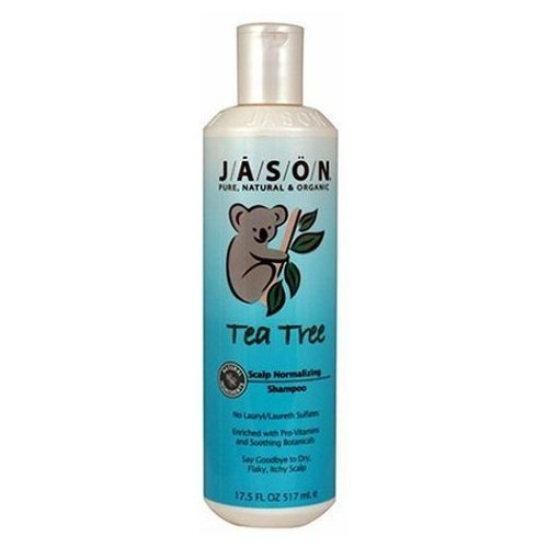 Jason Body Care: Shampoo, Tea Tree Oil Therapy 17.5 Oz (5 Pack)