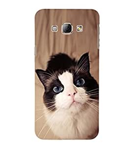 EPICCASE innocent cat Mobile Back Case Cover For Samsung Galaxy A3 (Designer Case)