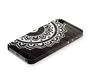 Cover Affair Mandala Printed Back Cover Case for Apple iPhone SE