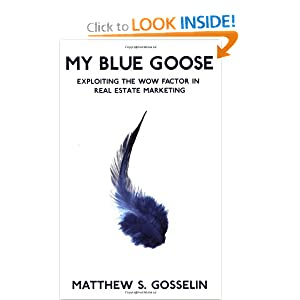 My Blue Goose, Exploiting The Wow Factor In Real Estate Marketing (1) Matthew S. Gosselin