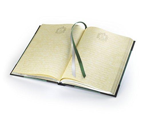 harry potter slytherin journal noble collection schreibwaren. Black Bedroom Furniture Sets. Home Design Ideas