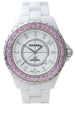 Chanel J12 White Ceramic Ladies Watch H2011 from Chanel