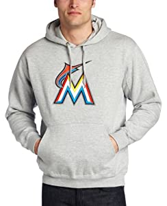 MLB Mens Miami Marlins SuedeTek Fleece by Majestic