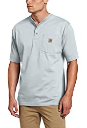 Carhartt Men's Workwear Pocket Short Sleeve Henley Original Fit K84
