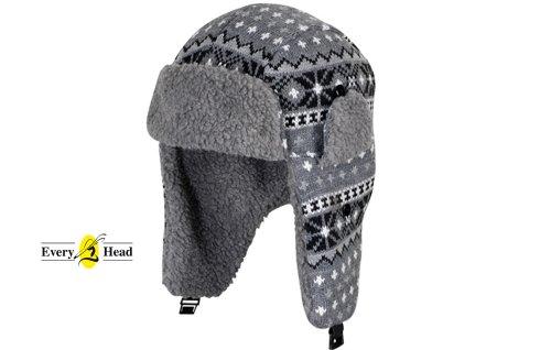 MaxiMo Mütze Wintermütze Strickmütze Blau Jungen Mehrfarbig Gr.43 45