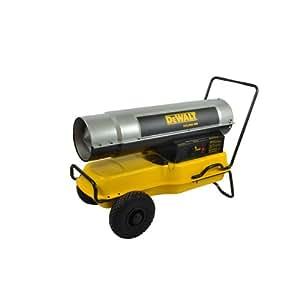 DeWalt DXH185KT Kerosene Heater, 185K BTU