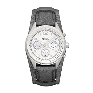 Fossil Damen-Armbanduhr Sport Analog Leder CH2796