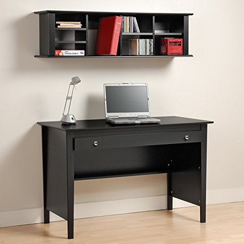 Wall Storage Office: Wall Mounted Hutch Hanging Wall Shelves Floating Storage