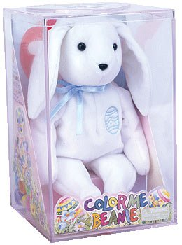TY Beanie Baby - COLOR ME BEANIE **THE BUNNY** (Complete Kit)