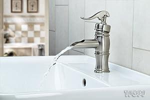 Nostalgie Retro Waschtisch Armatur Wasserpumpe in Zink Optik  BaumarktKundenbewertung und Beschreibung