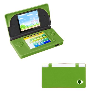 premium-neon-green-silicone-gel-skin-cover-case-for-nintendo-dsi-xl-ll-accessory-export-brand-packag