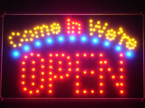 Adv Pro Led003-R Come In We'Re Open Business Led Neon Light Sign