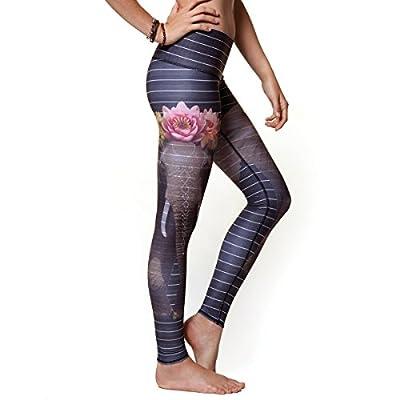 Teeki Love the Elephant Hot Pant Yoga Leggings