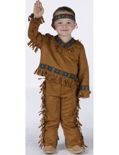 American Indian Boy Toddler Costume 24-2T - Toddler Halloween Costume