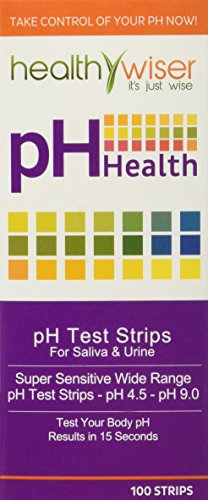 HealthyWiser-Ph-Test-Strips-Accurate-Results-in-15-Seconds-BONUS-Alkaline-Food-Chart-PDF-21-Alkaline-Recipes-eBook-100ct-Per-Barrel