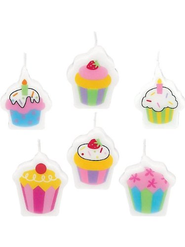 Amscan BB103352 Sweet Stuff Mini Candles - 1