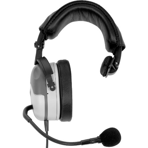 Telex Ph100R5, Single-Sided Full Cushion Medium Weight Noise Reduction Headset, A5M Connector