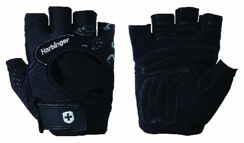 Harbinger FlexFit Weight Lifting Gloves For  Women, Medium
