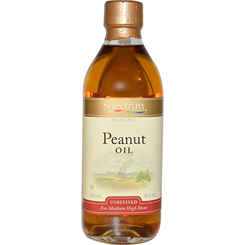 Spectrum Unrefined Peanut Oil, 16 oz (Peanut Cooking Oil compare prices)