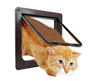 Xefeel Pet Door,Locking Pet Gate Dog Door Cat Flap.