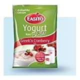 EasiYo Greek'n Cranberry Yoghurt with bits 1 x 240g